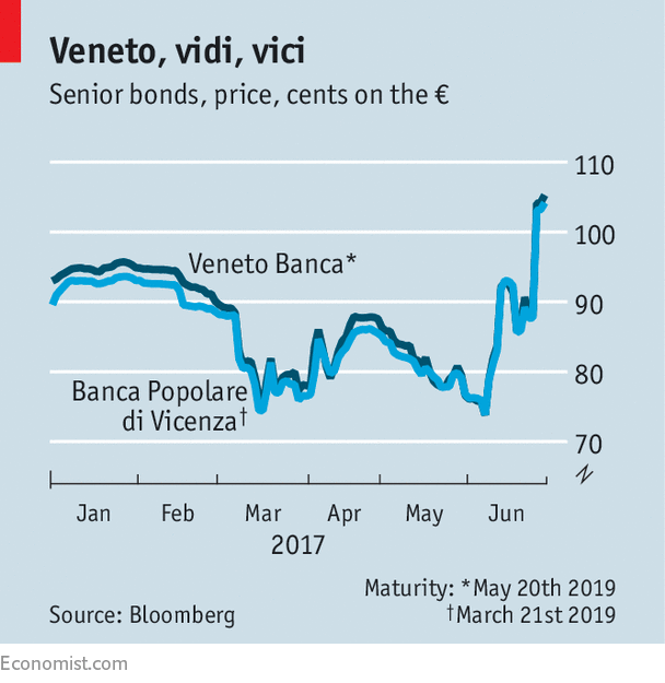 Investment funds offered to invest in Italy's Veneto banks three weeks ago