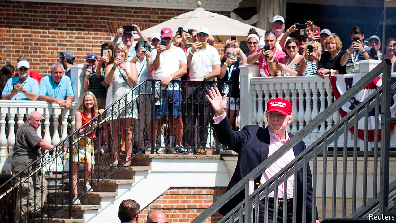 How Donald Trump is monetising his presidency