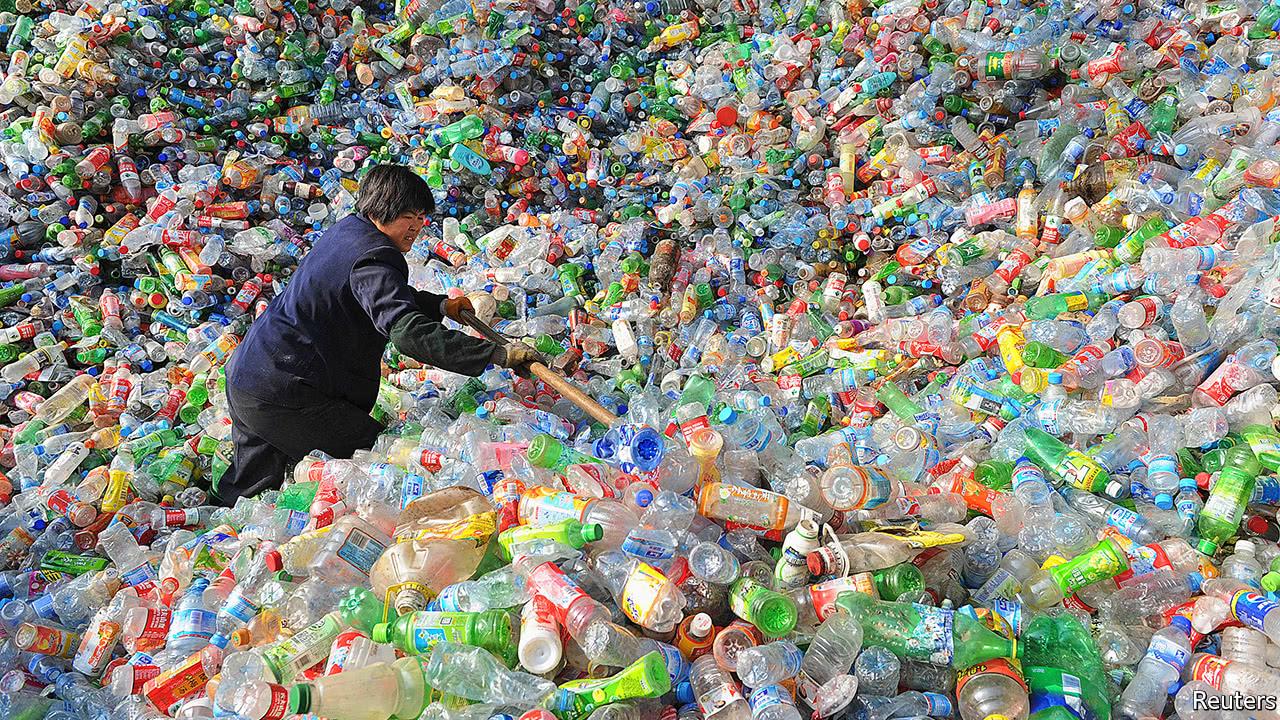 esportazione dei rifiuti plastici