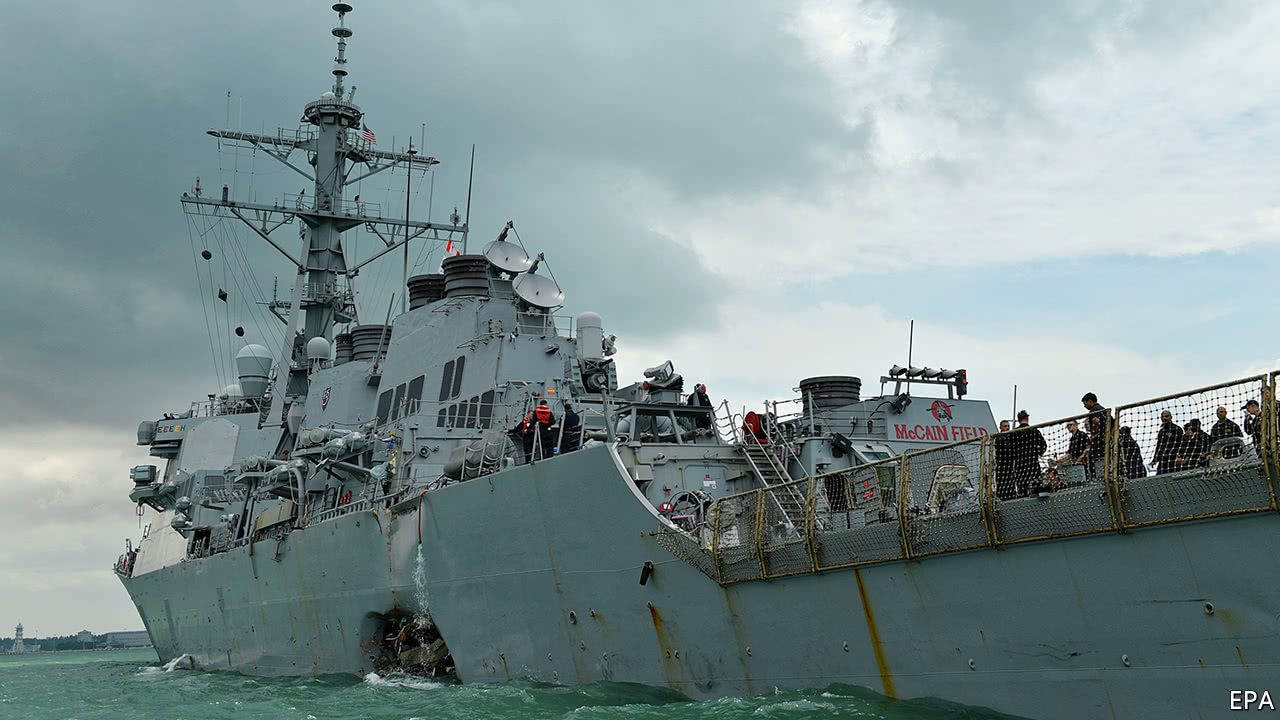 Divers find remains of missing sailors in U.S.  destroyer collision
