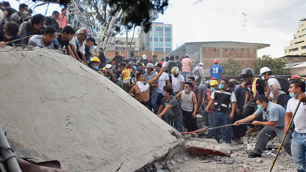 Small consolations from Mexico's terrible earthquake