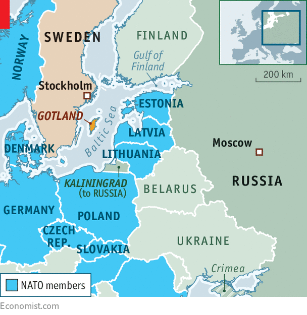 As Russia Threatens Sweden Ponders Joining NATO Deterring The Bear - Sweden russia map