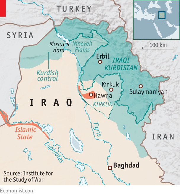 neighbours all around the enclave are uniting against the kurds iraqi politicians speak of closing its airspace fearing that the referendum will stir