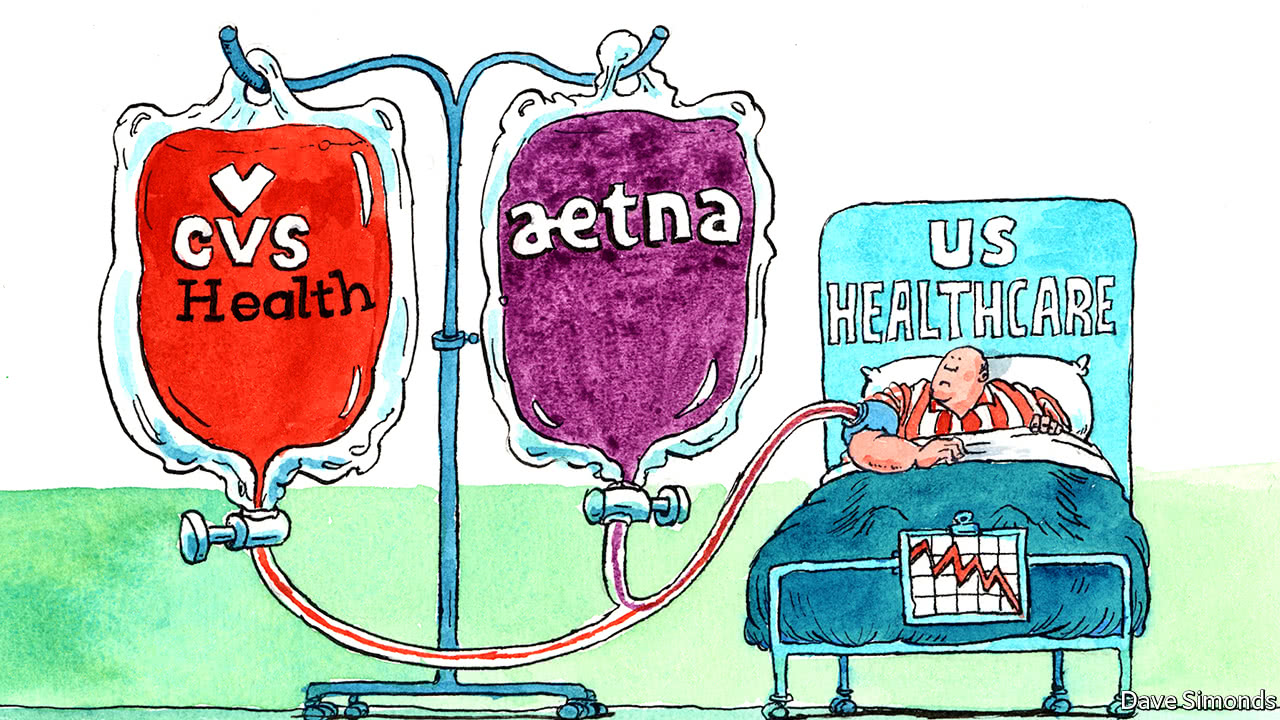 a merger between cvs health and aetna could be what the doctor ordered