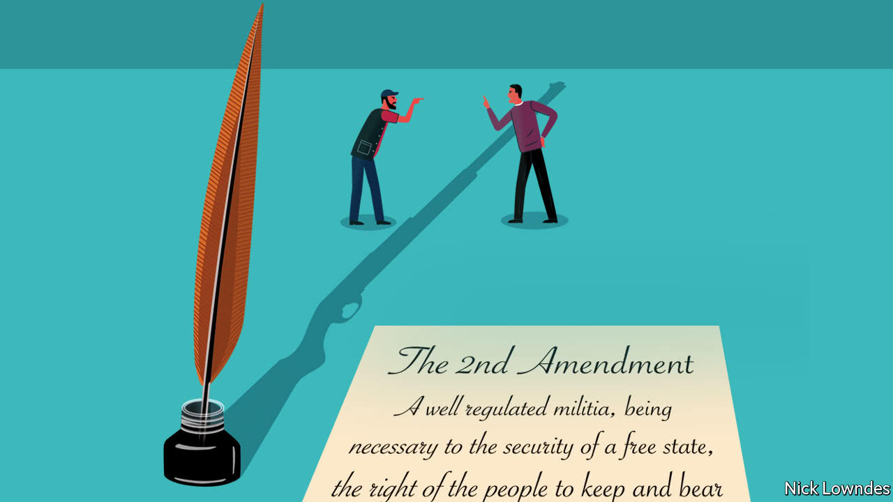 What Does America S Second Amendment Really Say Johnson