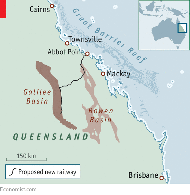 Mckay Australia Map.Coal Becomes A Flashpoint In A Close Election In Australia Pier