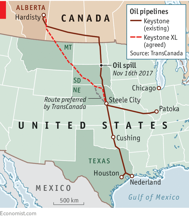 Ex-XLThe Keystone XL pipeline has won approval in Nebraska