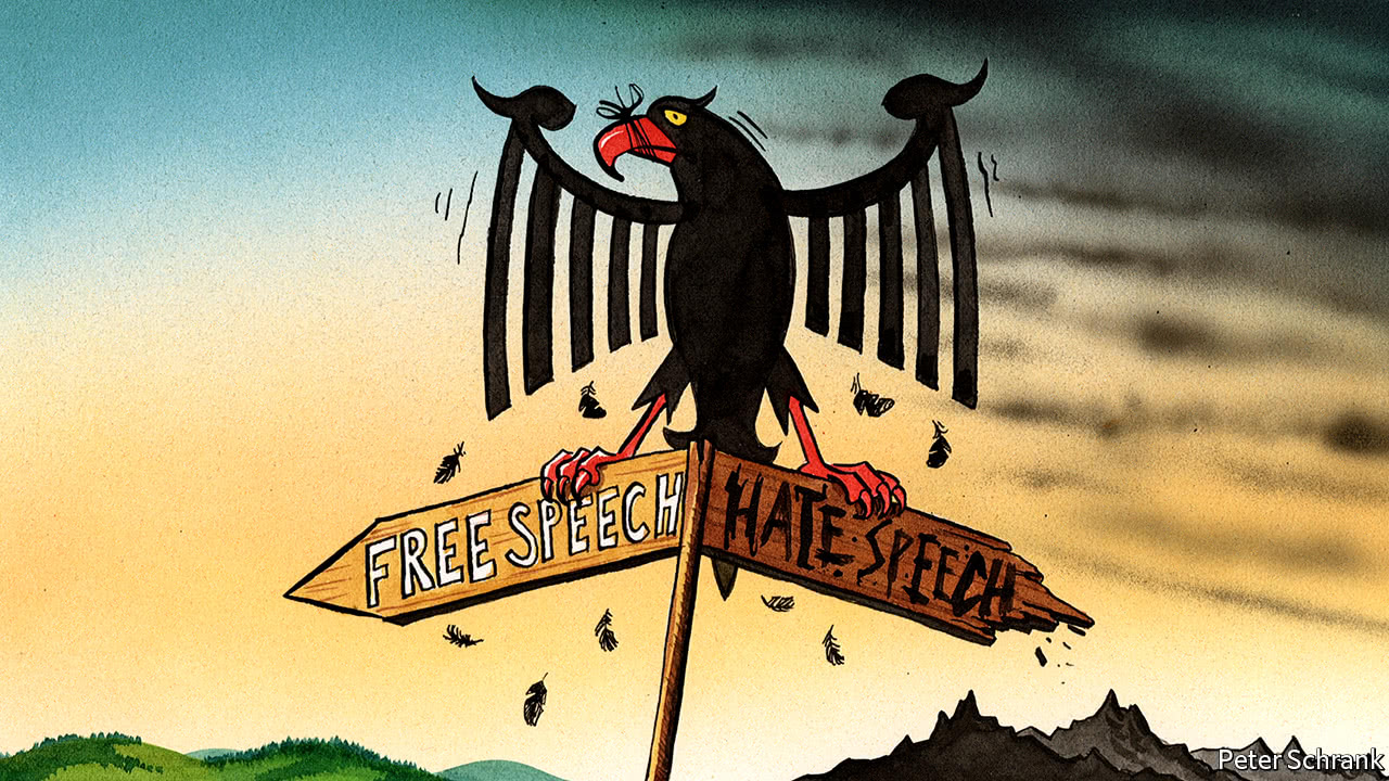 """Germany is silencing """"hate speech"""", but cannot define it"""