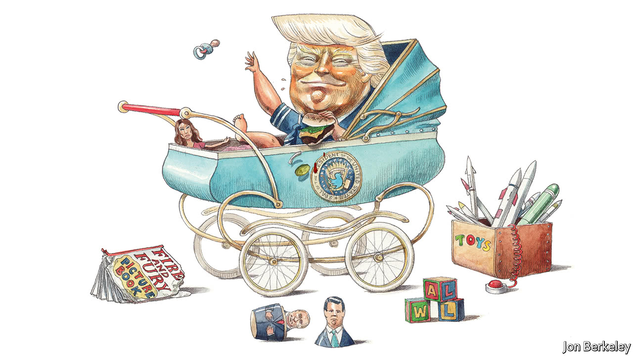 The one year old trump presidency american politics print edition leaders nvjuhfo Image collections