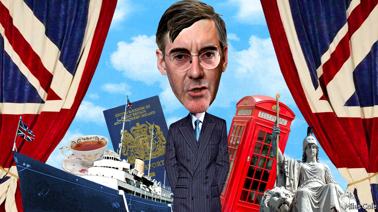 Jacob Rees-Mogg caught up in scuffle at university event