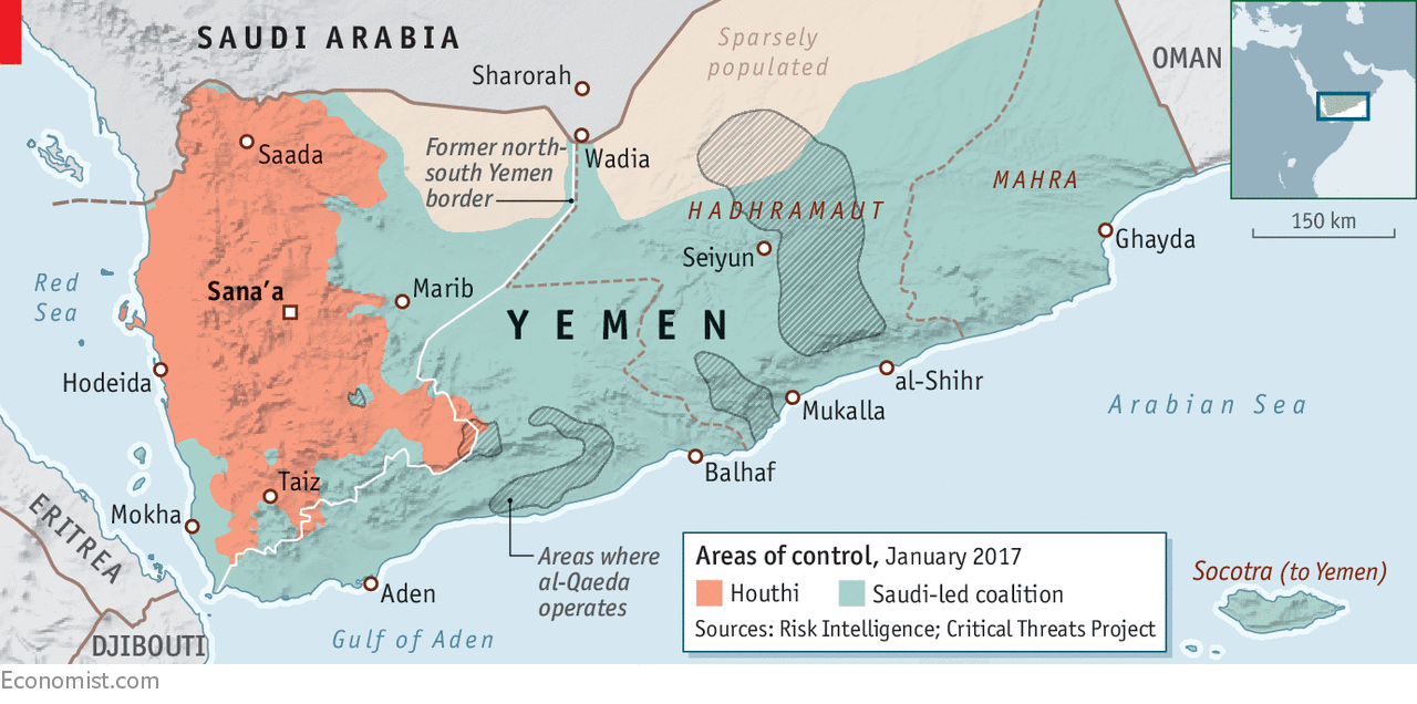 A rebellion in Aden is hastening the breakup of Yemen The centre
