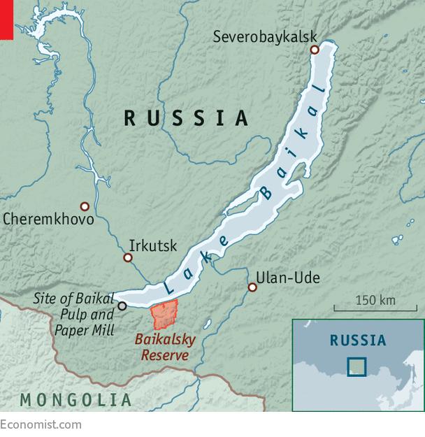 Lake Baikal World Map.On The World S Deepest Lake Something New Russian Eco Activists