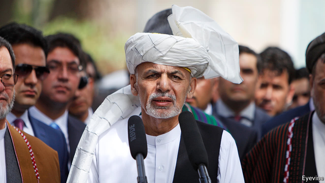 Ghani offers recognition of Taliban toward talks