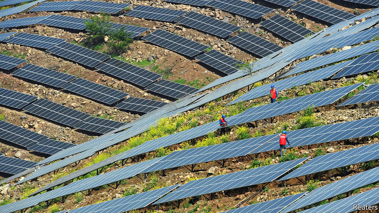China is rapidly developing its clean-energy technology ...