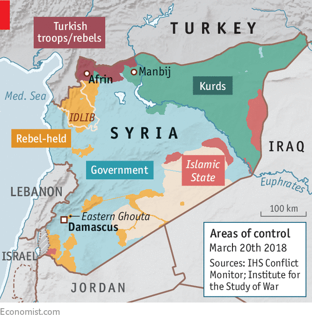 After taking Afrin, Turkey looks for new targets in Syria - Where to ...