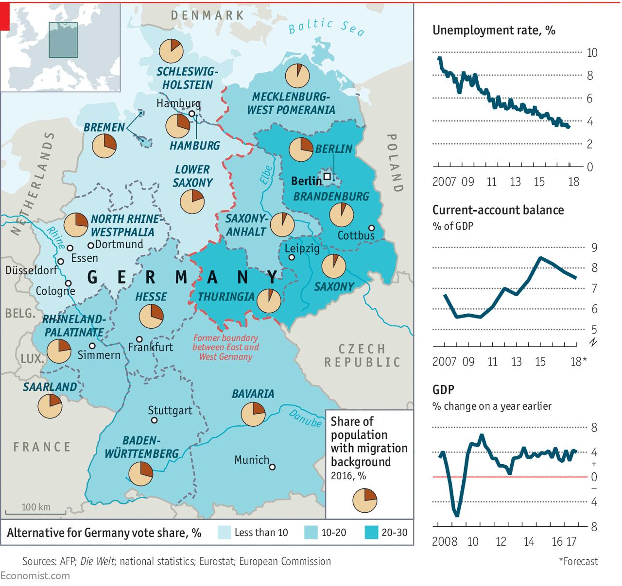claimant count rate deutsch