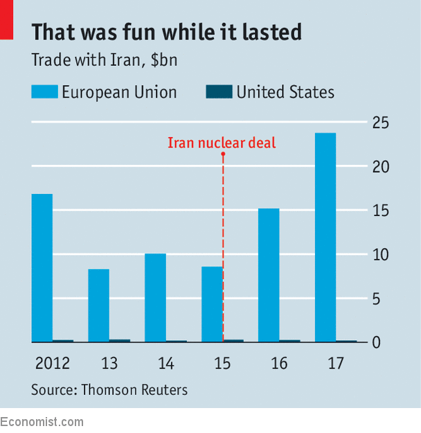 Trump's decision to exit nuclear deal amplifies widespread anger in Iran