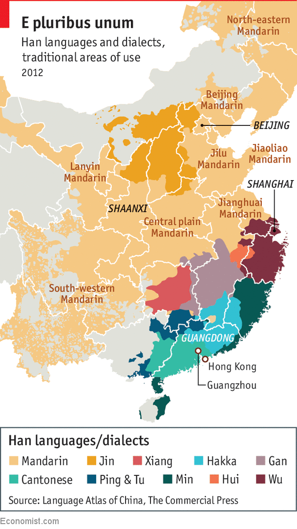 China Is Becoming More Tolerant Of Some Regional Han Languages A