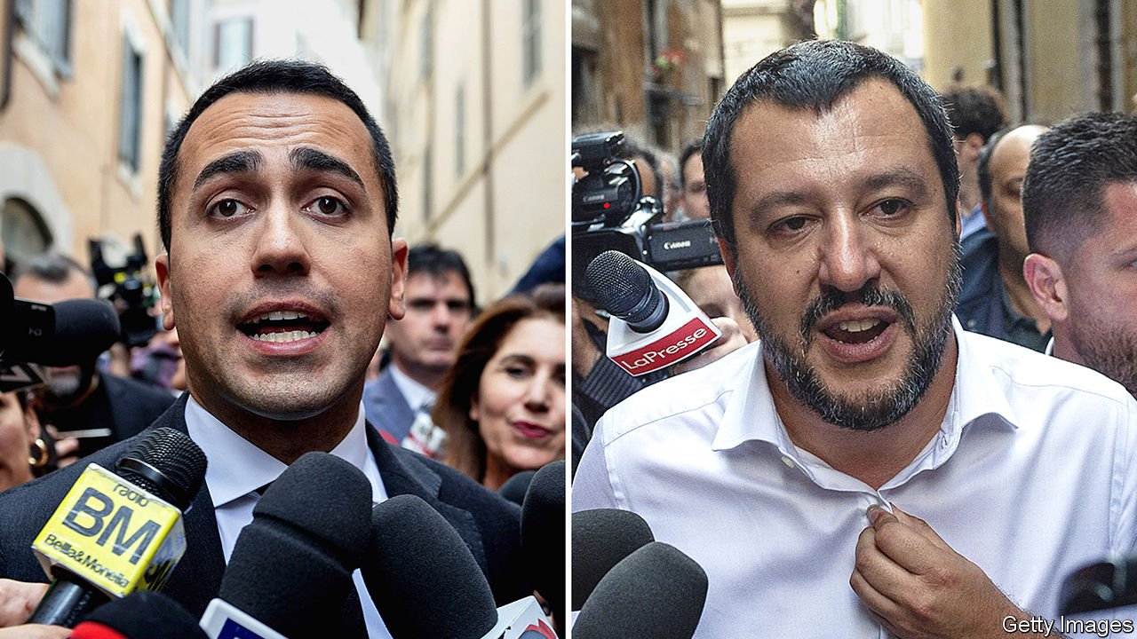 Italy's anti-establishment parties sign accord to form ruling coalition