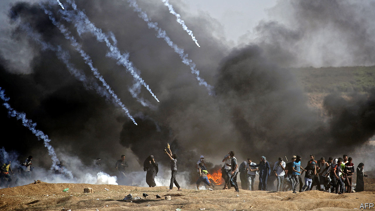 Deadly protests on Gaza's border with Israel