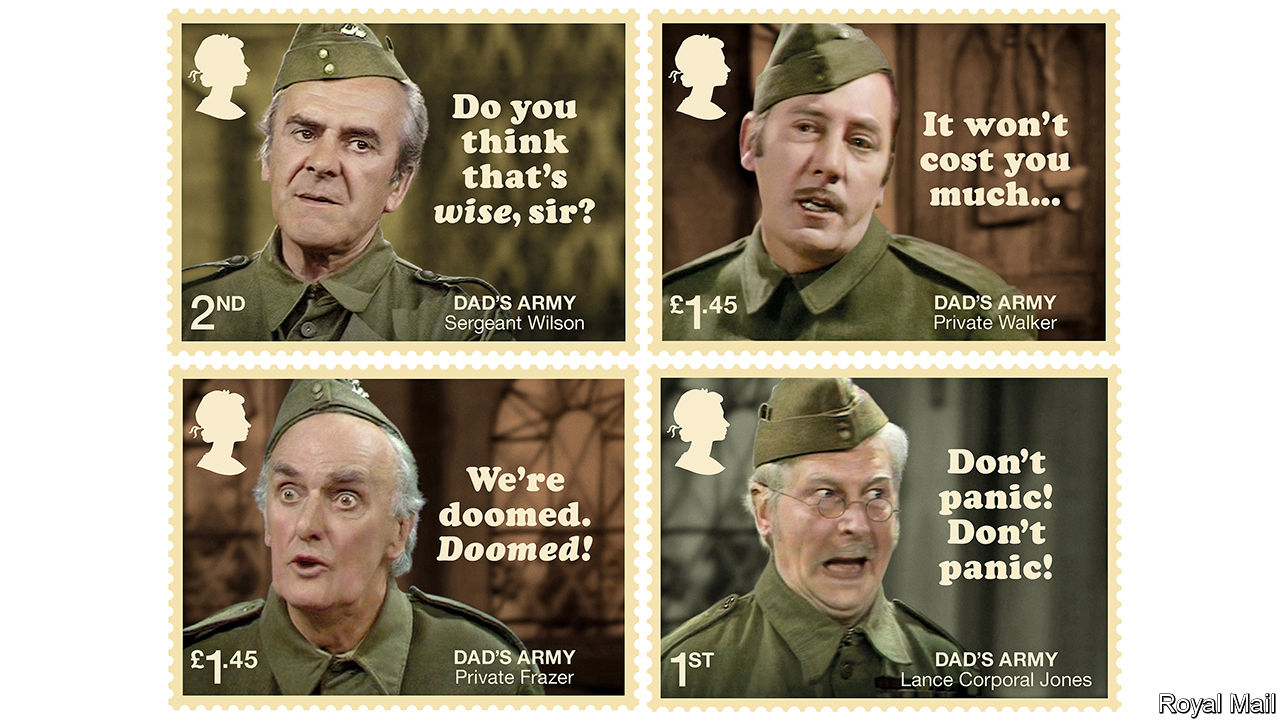 Are these Dad's Army stamps inspired by Brexit ...