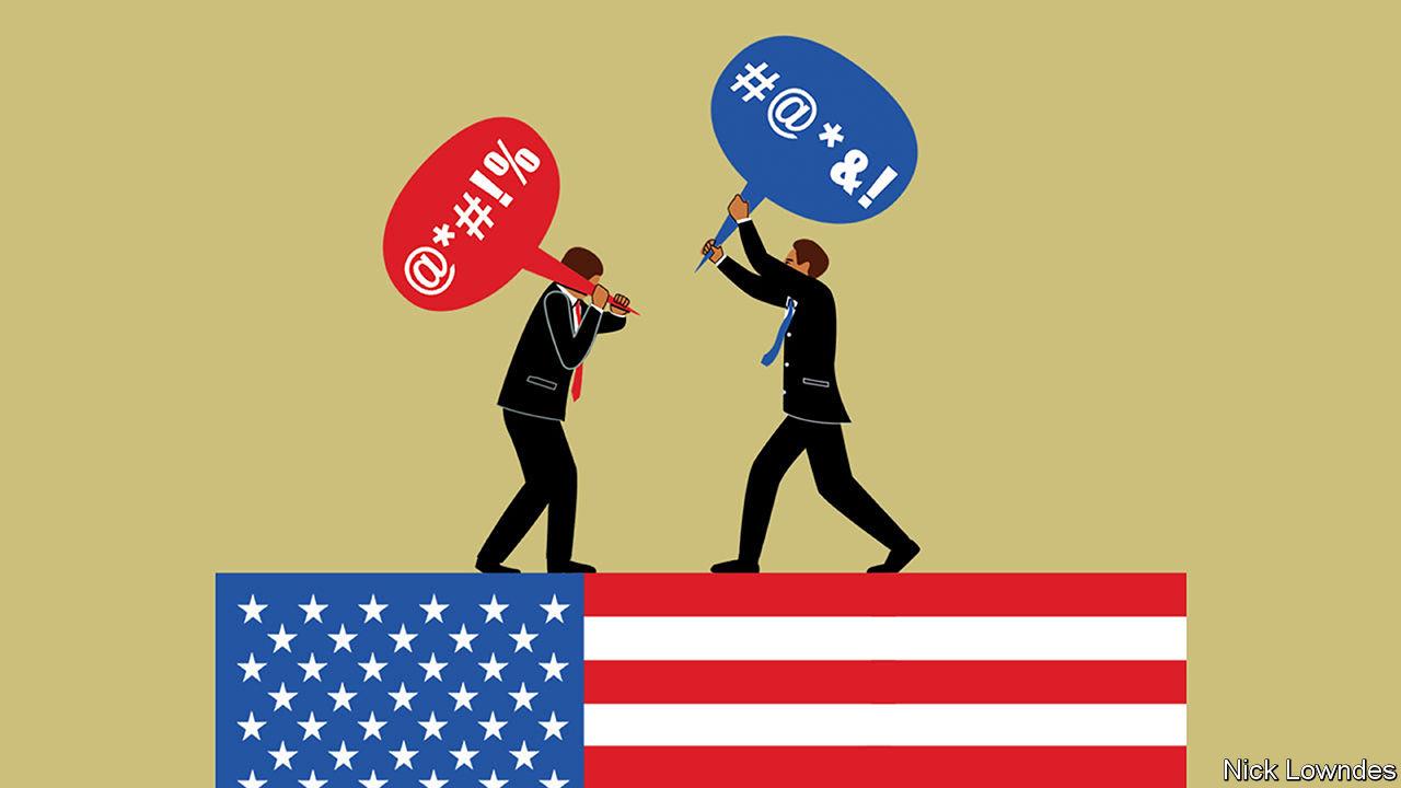 American political rhetoric is sliding towards the sewer