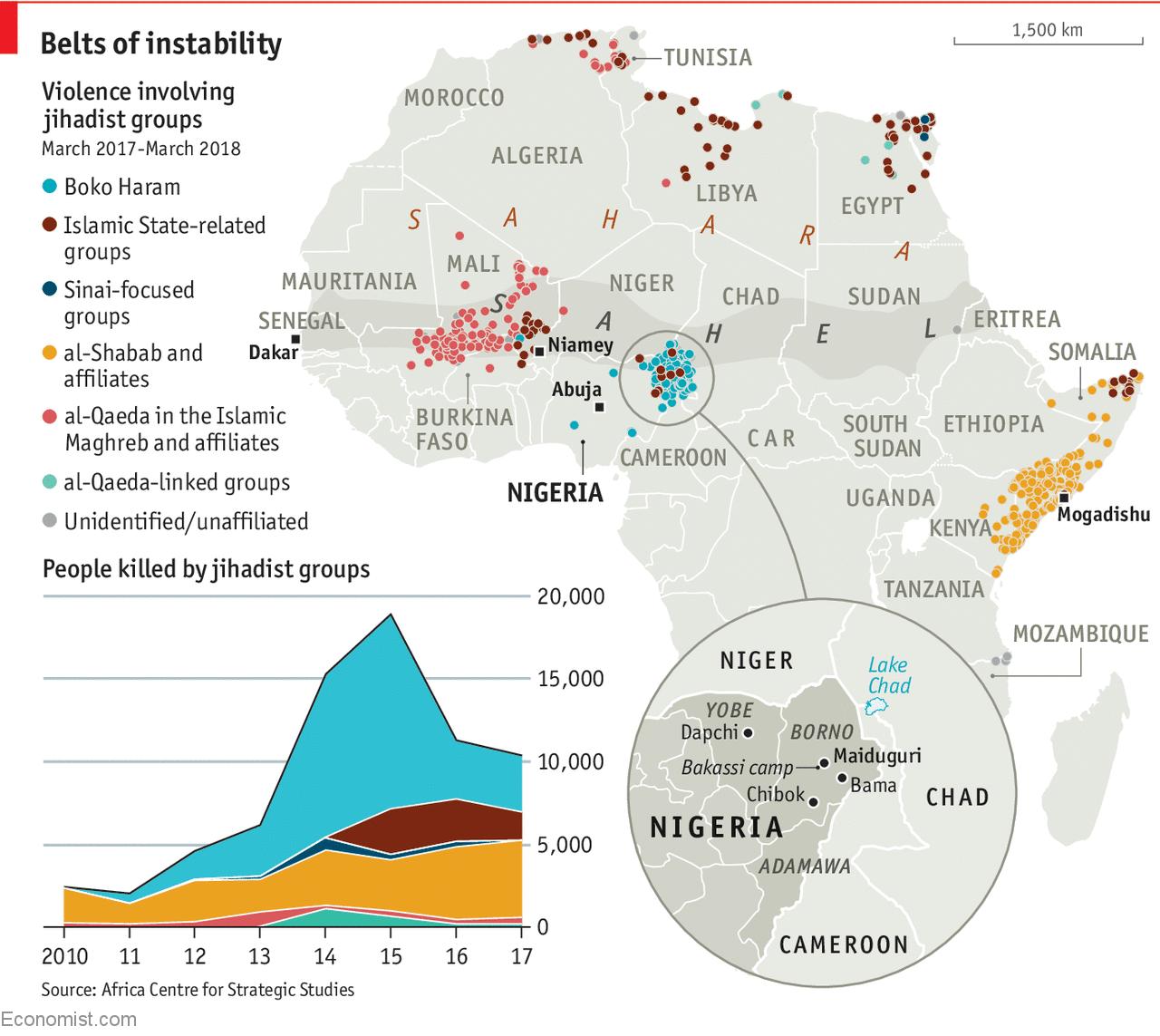 """Résultat de recherche d'images pour """"Africa, terrorism, violences, sahel, africa, 2018, 2019"""""""