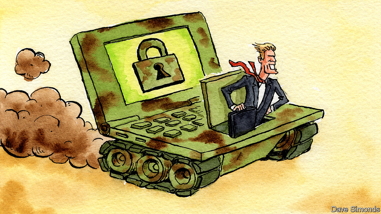 Defence companies target the cyber-security market