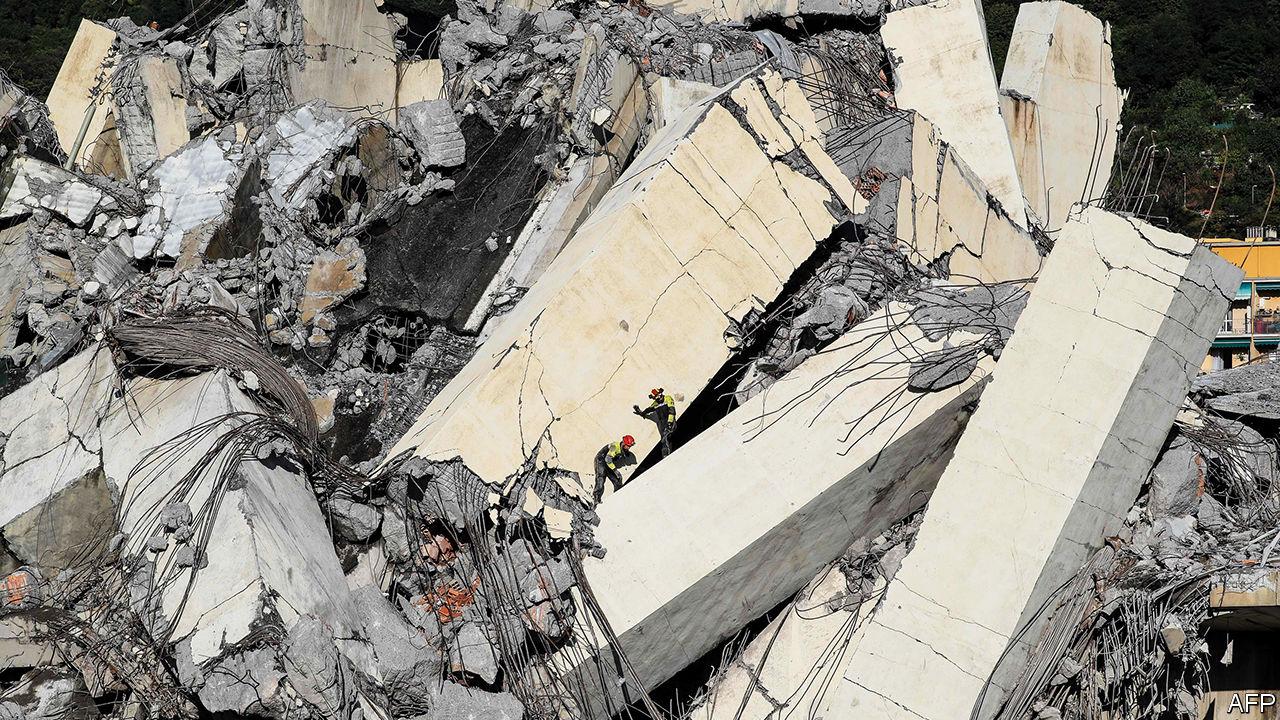 economist.com - Crumbling infrastructure is a worldwide problem