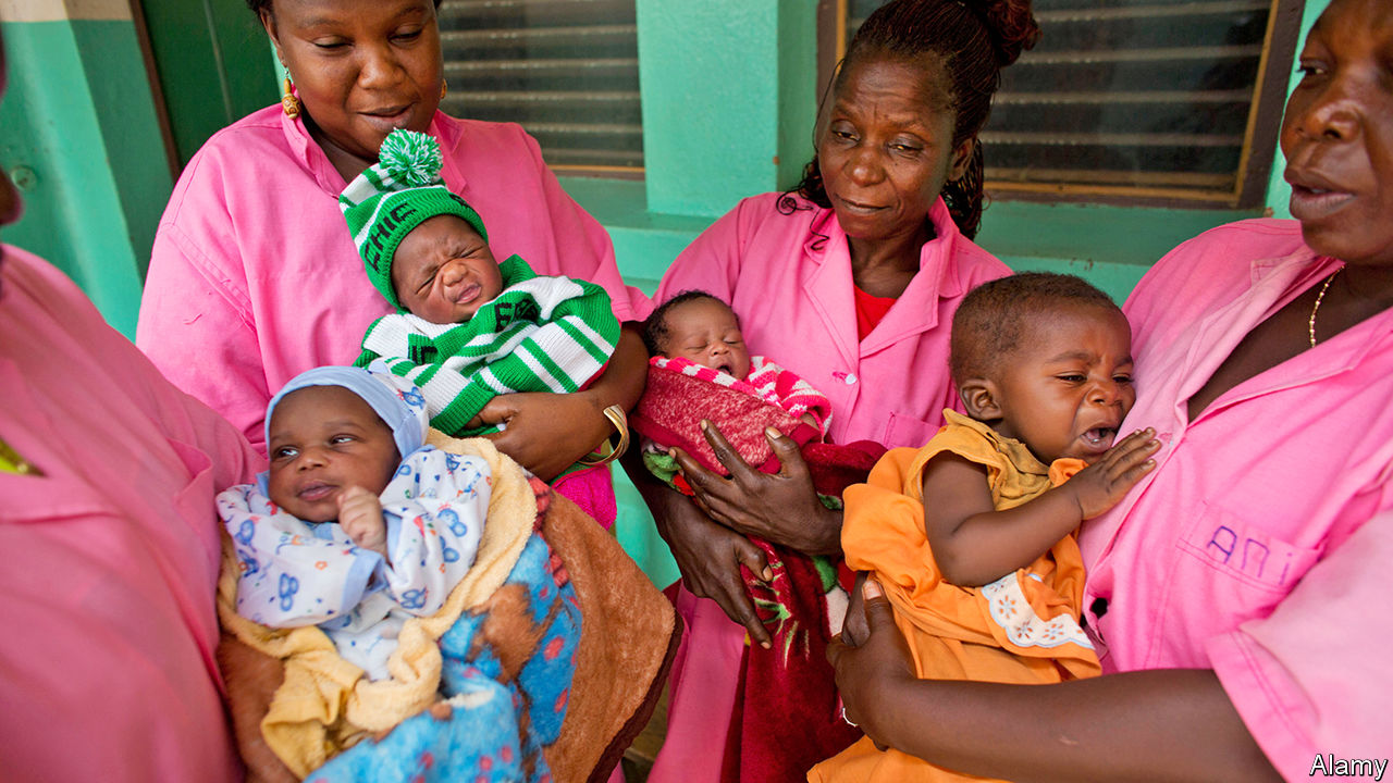 Africa's high birth rate is keeping the continent poor