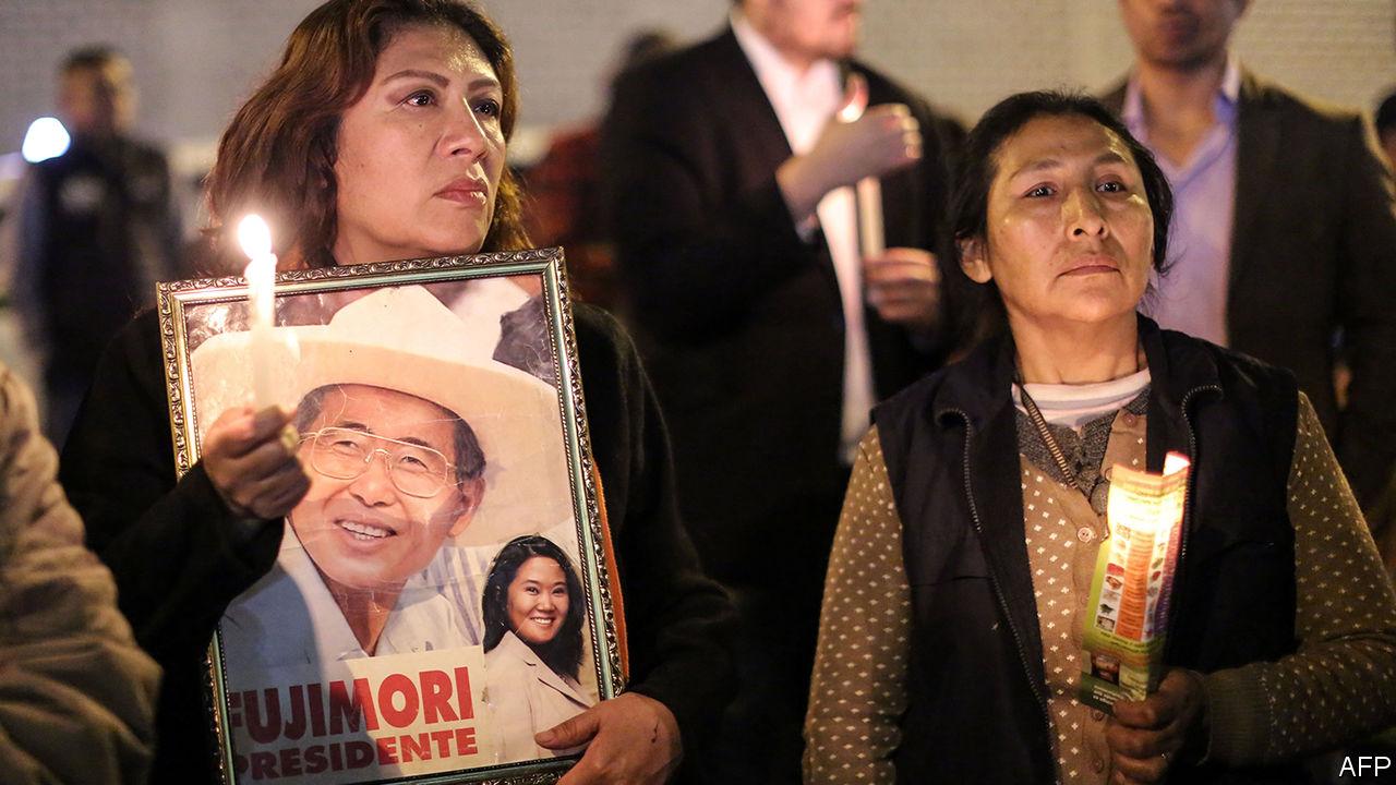 The unpardoning of Alberto Fujimori