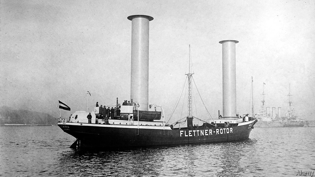 Wind-powered ships are making a comeback