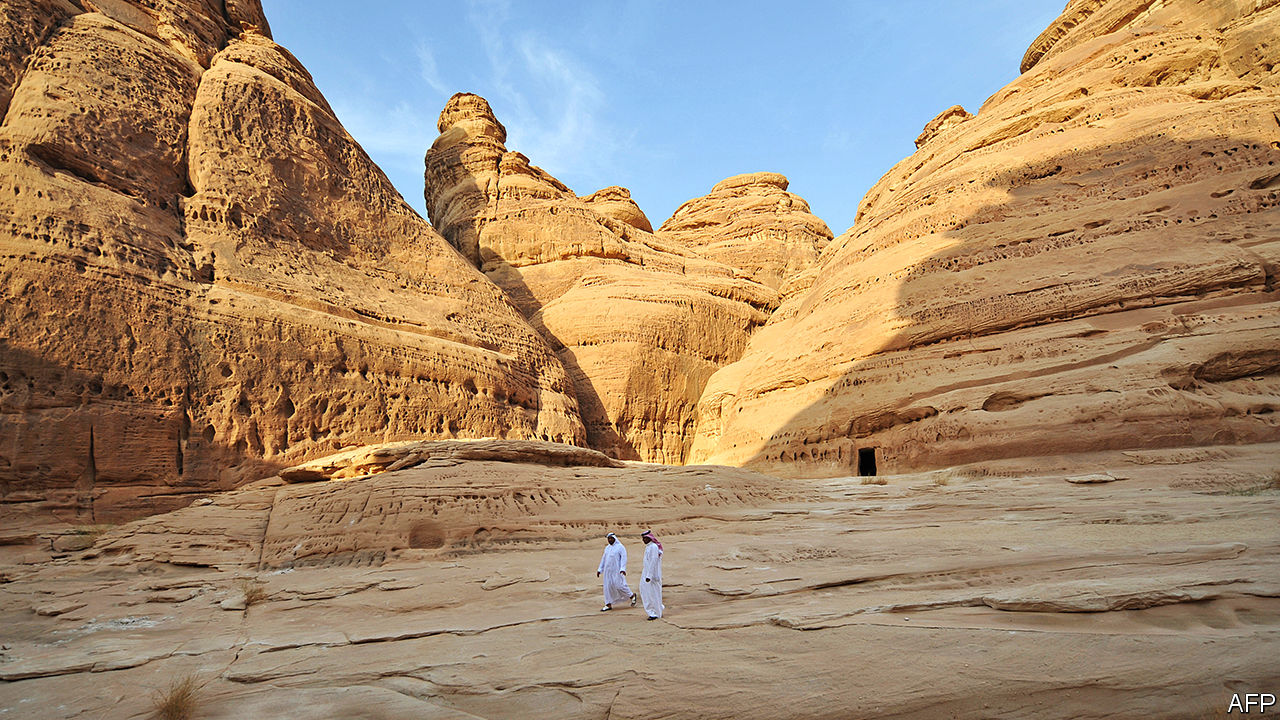 Saudi Arabia wants millions to visit a marvel in the desert