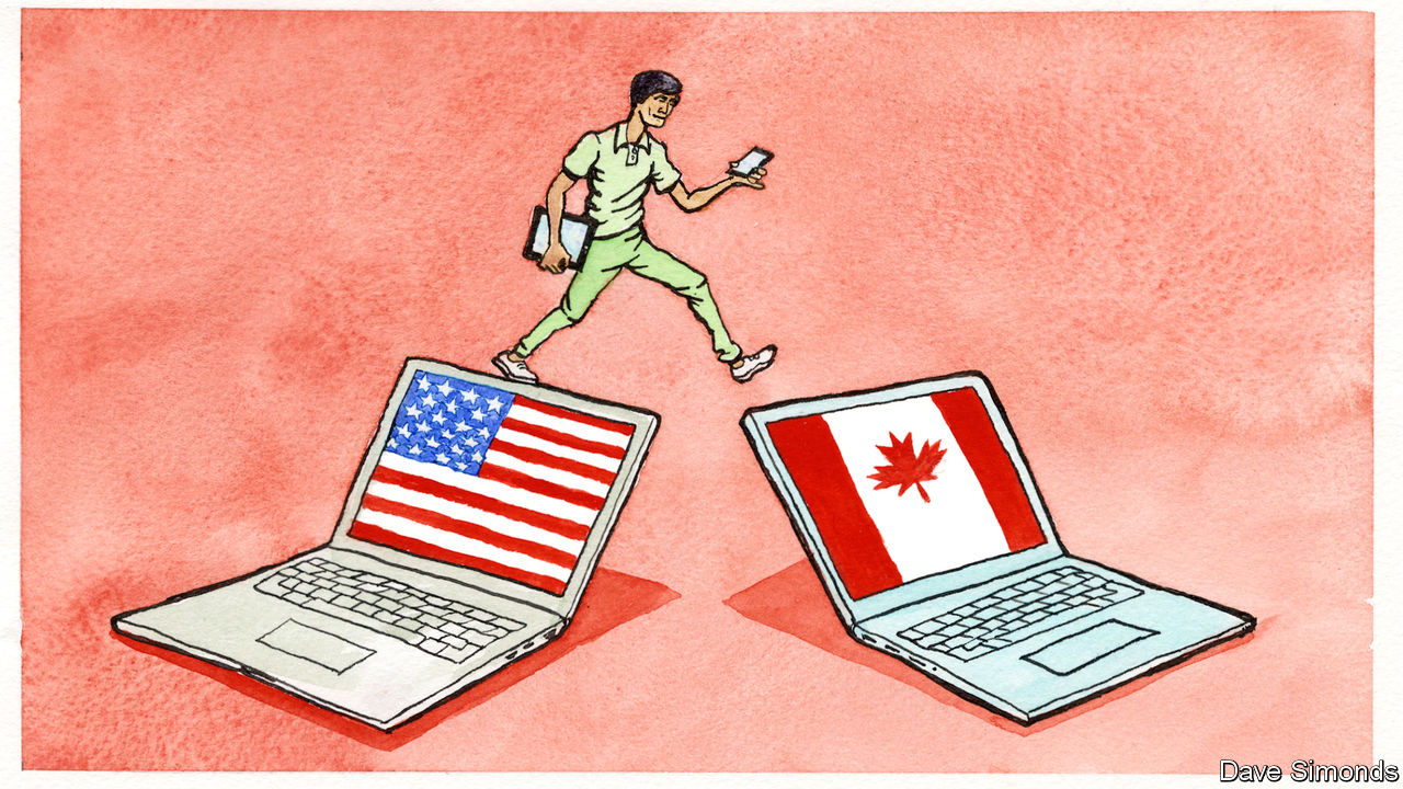 Indian technology talent is flocking to Canada