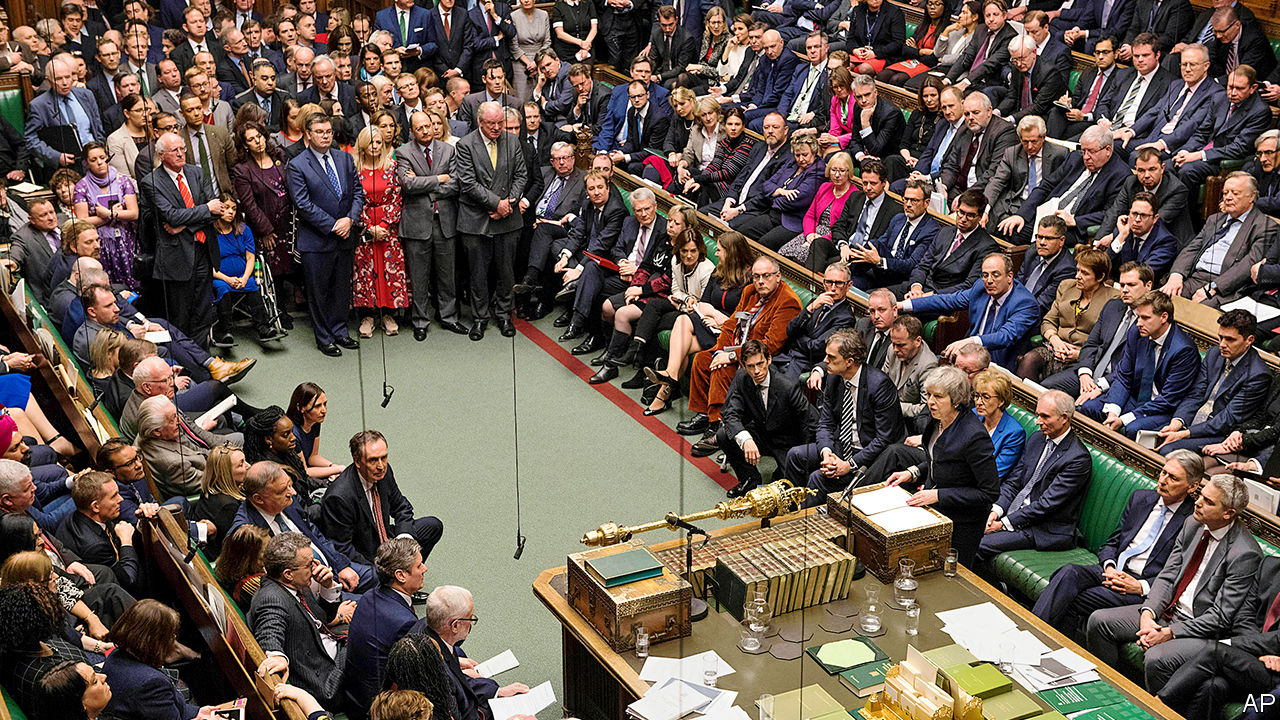 A seismic defeat throws Brexit plans into chaos