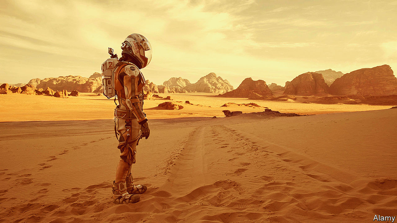 The problems of flying to Mars