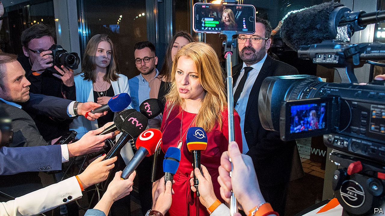 A young liberal is poised to win Slovakia's presidency