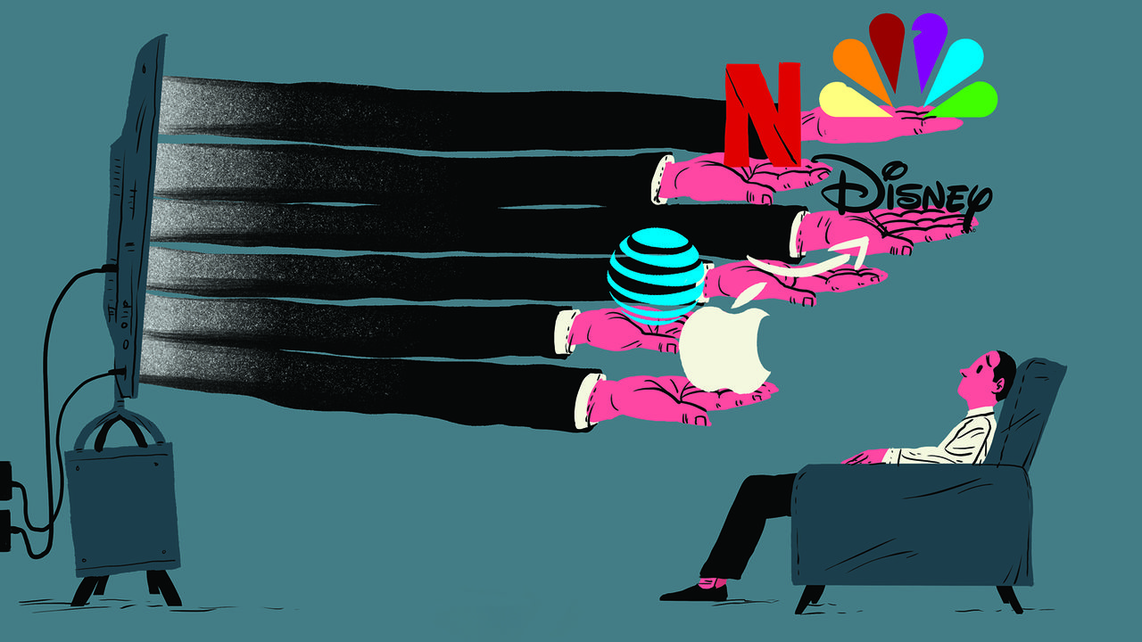 Disney, AT&T and Comcast v Netflix, Amazon and Apple