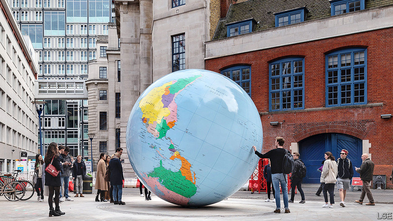 A cartographic clash between the LSE and its Chinese students