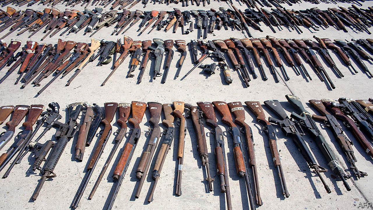 Guns from the United States are flooding Latin America