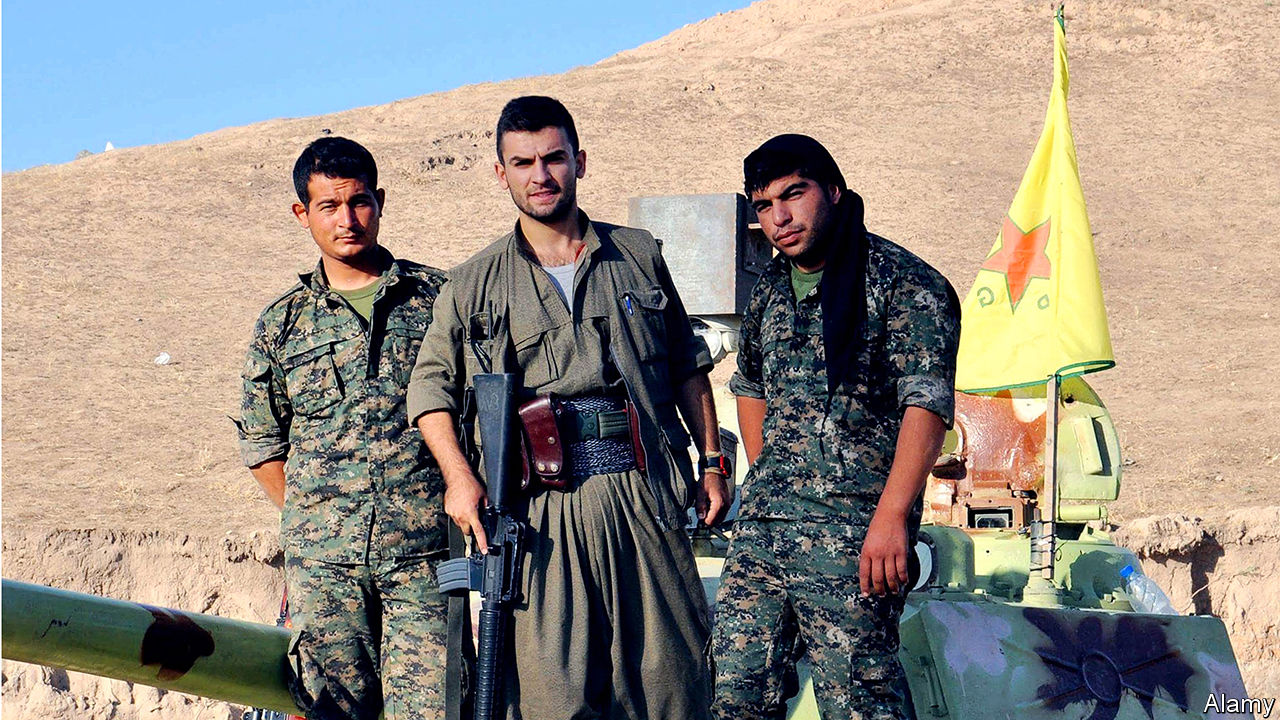 The Kurds are creating a state of their own in northern Syria