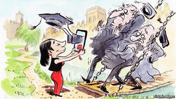The attack of the MOOCs