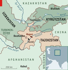 Folie de grandeur - Hydropower in Tajikistan