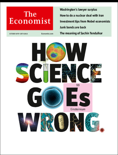 Risultati immagini per The Economist Unreliable research
