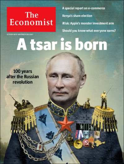 "Image result for ""the economist"" cover putin"